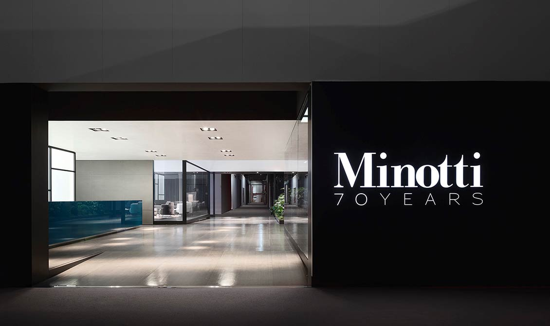 Minotti am Salone del Mobile 2018